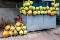 Coconut Vendor, Bali